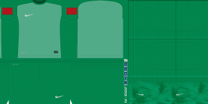 PES 2013 Nike 2013-2014 GoalKeeper Template
