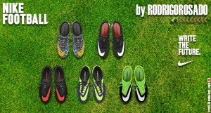 PES 2013 Nike Hypervenom - Nike Mercurial Boots