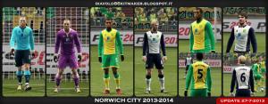 PES 2013 Norwich City 2013-2014 Kitset