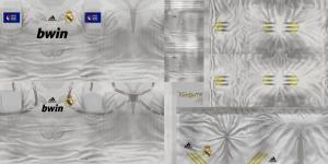 PES 2013 Real Madrid Home and Away Fantasy Kits