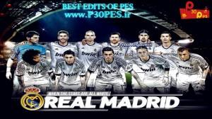 PES 2013 Real Madrid Start Screen