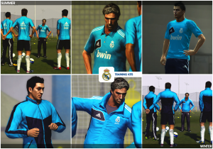 PES 2013 Real Madrif C.F Football Life Pack  - 12