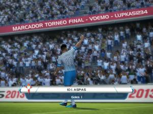 PES 2013 Scoreboard Torneo Final 2013 - TV Publica VDEMO - 2