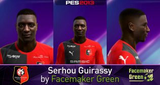 Face Serhou Guirassy PES 2013