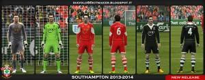 PES 2013 Southampton 2013-2014 Kitset