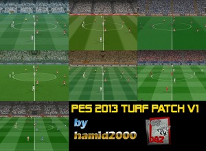 PES 2013 Turf Patch V1 by Hamid2000 - 2
