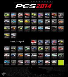 PES 2014 Actual Bootpacks Version 2