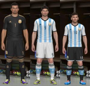 PES 2014 Argentina 2013-2014 Kitset