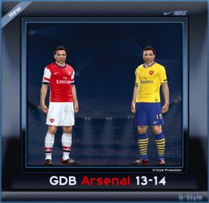 PES 2014 Arsenal GDB Folder 13-14