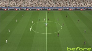 PES 2014 Brighter & Greener Night Mode Turfs for All Stadiums