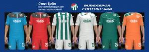 PES 2014 Bursaspor Fantasy 13-14 Kitset