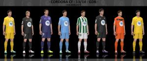 PES 2014 Córdoba CF 13-14 GDB V2 Kitset