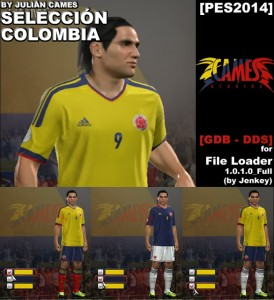 PES 2014  COLOMBIA GDB