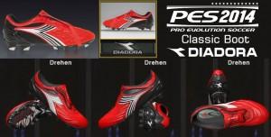 PES 2014 Classic Diadora Kobra K Pro BX14 Boot