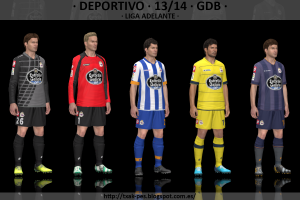 PES 2014 Deportivo 13-14 GDB Kitset