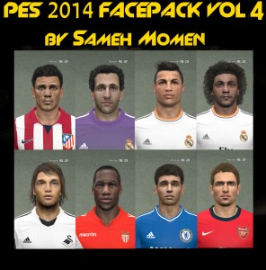 PES 2014 Facepack Vol 4 by Sameh Momen