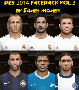 PES 2014 Facepack vol.3