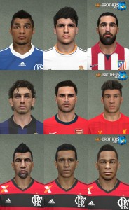 PES 2014 Facepack vol.5