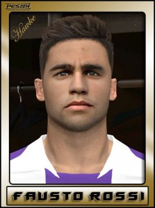 PES 2014 Fausto Rossi HD Face