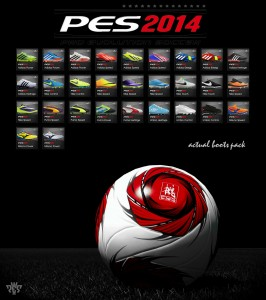 PES 2014 First Boopack