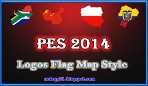 PES 2014 Logos Flag Map Style