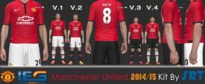 PES 2014 Manchester United 2014-2015 Kits
