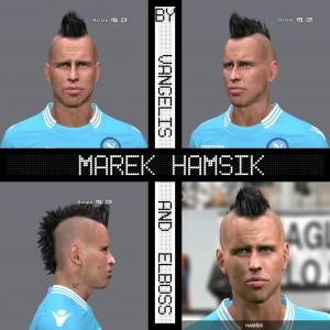 PES 2014 Marek Hamšík Face