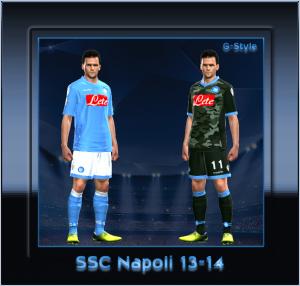 PES 2014 Napoli Kitset