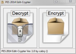 PES 2014 PES 2014 Edit-Crypter 1.0