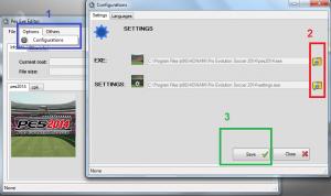 PES 2014 PES EXE Editor v1.4 by Lagun-2