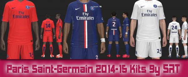 PES 2014 Paris Saint-Germain 2014-15 Kits