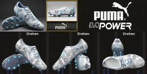 PES 2014 Puma evoPOWER 1 Camo FG Boots