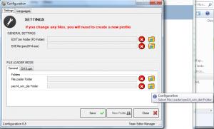 PES 2014 Team Editor Manager v0.7