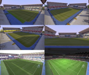 PES 2014 The New Den Stadium