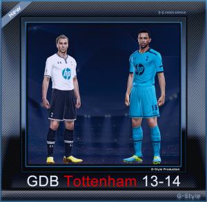 PES 2014 Tottenham 13-14 Kitset