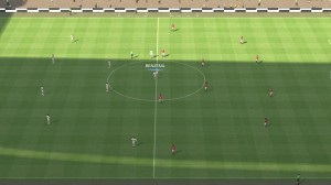 PES 2014 Wembley Stadium Turf Summer Daytime