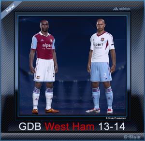 PES 2014 West Ham 13-14 Kitset