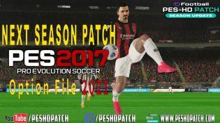 pes 2017 option file