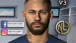 Download Neymar Jr Bald V3 Face