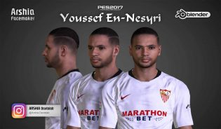 Download Nesyri Face PES2017