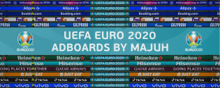 Euro 2020 Adboards by Majuh For PES 2021