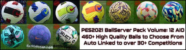 PES 2021 Ball Server Pack V12