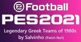 PES 2021 Legendary Greek Teams OF by Salvinho