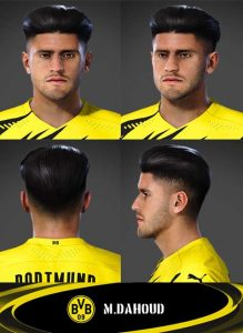 PES 2021 Mohamed Dahoud Face