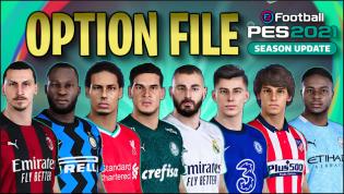 Download PES 2021 Option File PS4