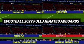 PES2017 | EFOOTBALL 2022 OFFICIAL ANIMATED ADBOARDS BY DZPLAYZ