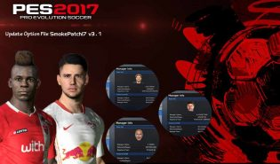 PES2017 Update Option File SmokePatch 17.3.1