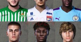 Preview Faces PES20 by raden