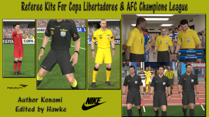 Referee Kits For Copa Lib & AFC Champions League by Hawke