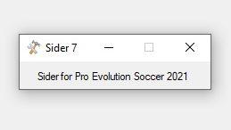 Sider 7.1.4 For PES 2021